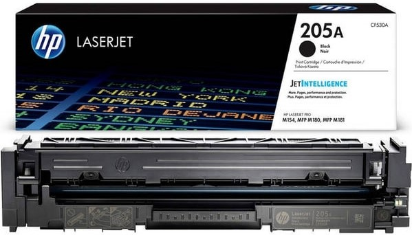 Разное-HP-205A Black LaserJet toner cartridge (CF530A)