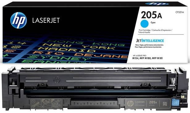 Разное-HP-205A Cyan LaserJet toner cartridge (CF531A)