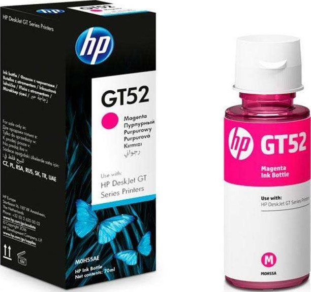 Разное-HP-GT52 MAGENTA ORIGINAL INK BOTTLE (M0H55AE)
