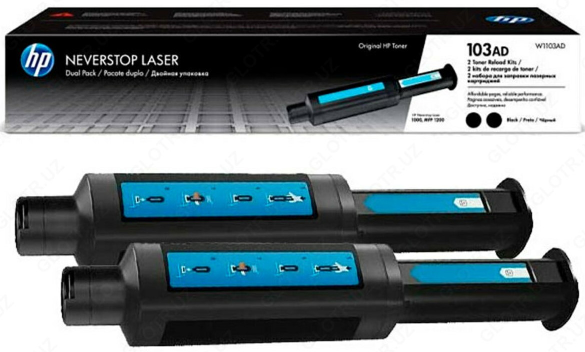 <p><strong>HP Toner Reload kit 2-Pack for neverstop 103AD</strong> w1103ad</p>